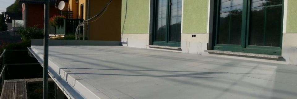 Abdichtung Terrasse